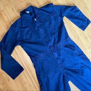 Navy Blue Jumpsuit Coveralls 44 L
